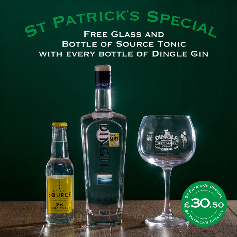Dingle Gin St Patrick's Day Offer