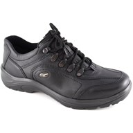 Waldlaufer wide fitting shoes for men, leather and rubber materials