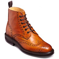 selection of mens barker leather ankle boots