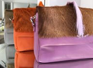 Sherene Melinda handbags made from italian nappa leather and springbok hair-to-hide