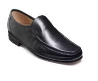 selection for barkers mens shoe in loafer and moccasin styles, full leather with leather soles
