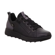 Legero Black Leather Gore-Tex Trainer