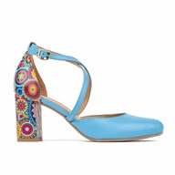 Kylie By The Shoe Embassy In Bright Blue