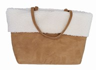 Owen Barry 'Chiltern' Sheepskin Tote Bag