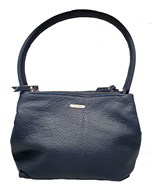 Owen Barry 'Melody' Handbag In Navy