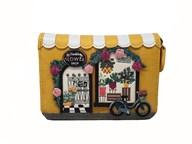 Vendula Flower Shop Small Ziparound Wallet