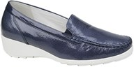 Waldlaufer Blue Patent Loafer