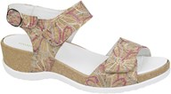 Waldlaufer Cork & Embroidered Sandal