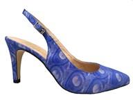 HB Petunia Blue High Heel Slingback
