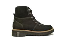 Waldlaufer Black Fur Lined Boot