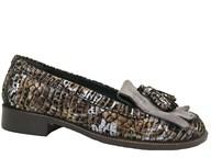HB Multi Patterned Suede Heritage Loafer
