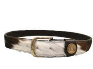 Hicks & Hide Moreton Keeper Belt In Cow Hide