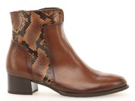 Gabor 'Delphino' Tan' Leather Ankle Boot