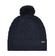 Dubarry Hat In Navy | Fleece Lined Hat