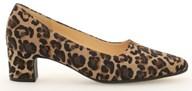 Gabor ' Eileen' Leopard Suede Court Shoe