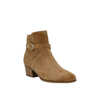 Gabor 'Rotor' Suede Ankle Boot In Beige