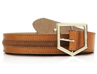 Fairfax & Favor Hampton Tan Leather Belt