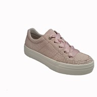 Legero Two Toned Pink Ribboned Lace Trainer