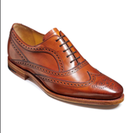 Barker 'Turing' in Antique Rosewood Calf