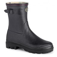 Le Chameau Giverny Bottillon Welly In Black