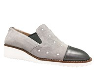 HB Grey Suede Loafer With Lightweight Sole