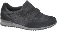 Waldlaufer Black Velcro Orthotritt Trainer