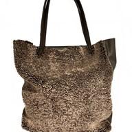 Owen Barry Keinton Merino & Leather Tote Bag