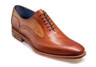 Barker Harding Oxford In Rosewood Leather