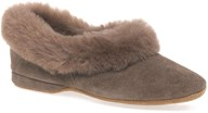 Drapers Jane Full Sheepskin Slipper In Nut