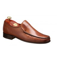 Barker Javron Moccasin In Burnished Brown