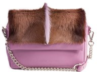 Sherene Melinda Lavender Fan Shoulder Bag
