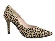 HB Leopard Print High Heel Court Shoe