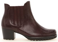 Gabor 'Mermaid' Red Leather Ankle Boot