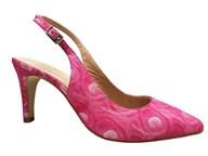 HB Petunia Pink High Heel Slingback
