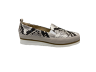 HB Slip On Python and nude Shoe