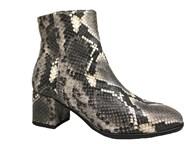 Lisa Kay 'Quintessa' Python Print Ankle Boot