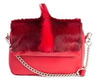 Sherene Melinda Fan Bag In Red
