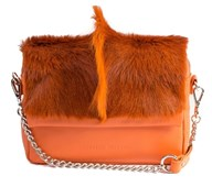 Sherene Melinda Fan Bag In Orange