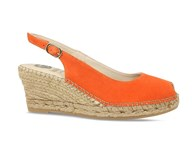 Lisa Kay 'Emmy' Orange Espadrille