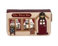 Vendula The Swan Inn Pub Medium Ziparound Wallet