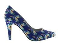 Capollini 'Eden' High Heel With A Parrot Design