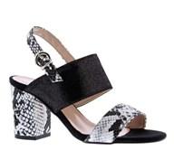 Capollini 'Wren' Sandal in Black