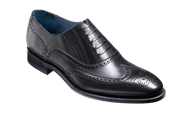 Barker Timothy Black Calf Leather Brogue