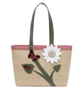 Vendula Daisy Garden Large Tote Bag