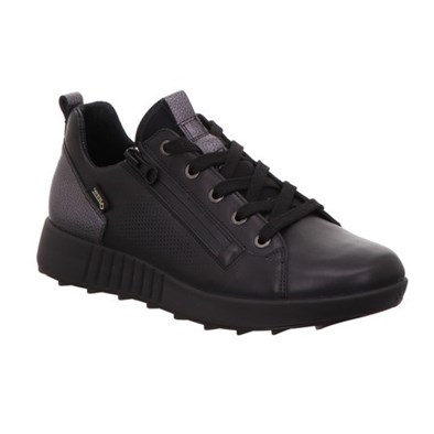 Legero Black Leather Gore-Tex Trainer