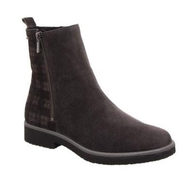 Legero Grey & Check Suede Gore-Tex Boot