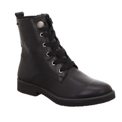Legero Black Leather Gore-Tex High Ankle Boot