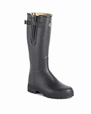 Le Chameau Vierzon Welly In Black