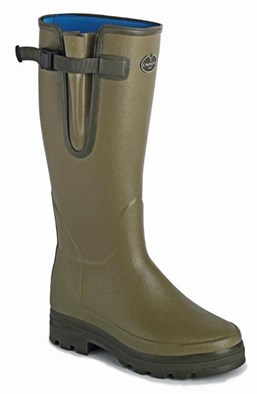 Le Chameau Vierzonord Neoprene Ladies Welly In Green