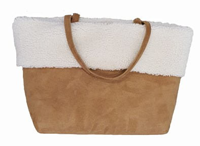 Owen Barry 'Chiltern' Sheepskin Tote Bag